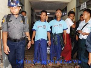 Tin Maung Kyi and Zaw Win