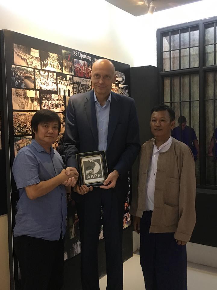 Czech visit to AAPP