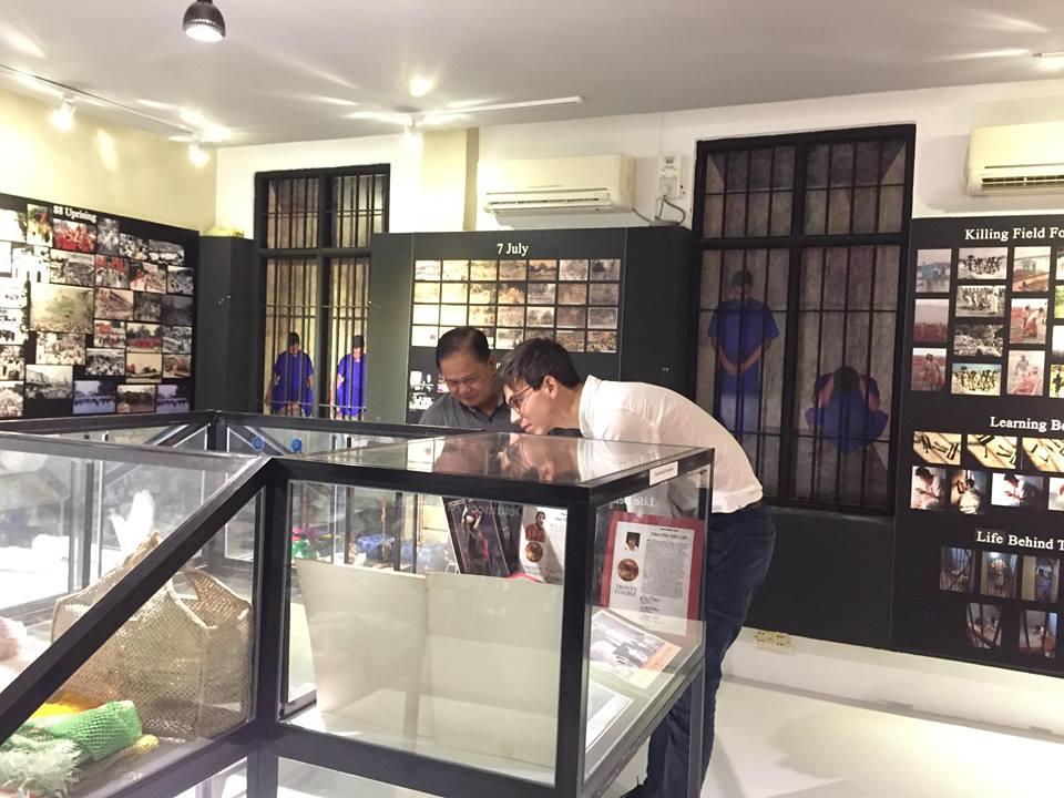 French Ambassdor visit AAPP