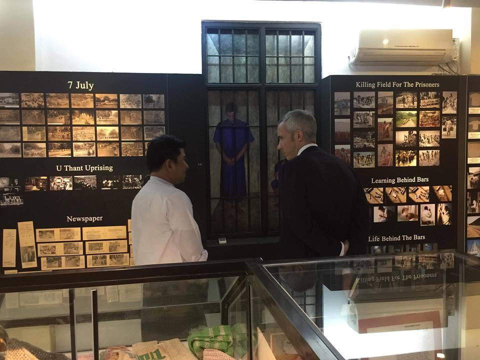 US ambassdor visit AAPP